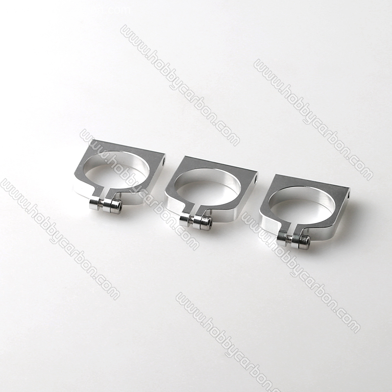 CNC aluminum clamps for tubing