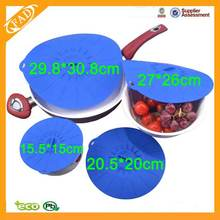 Good User Reputation for for Silicone Suction Lid Practical Flexile Silicone Storage Reusable Lid supply to Greece Factory