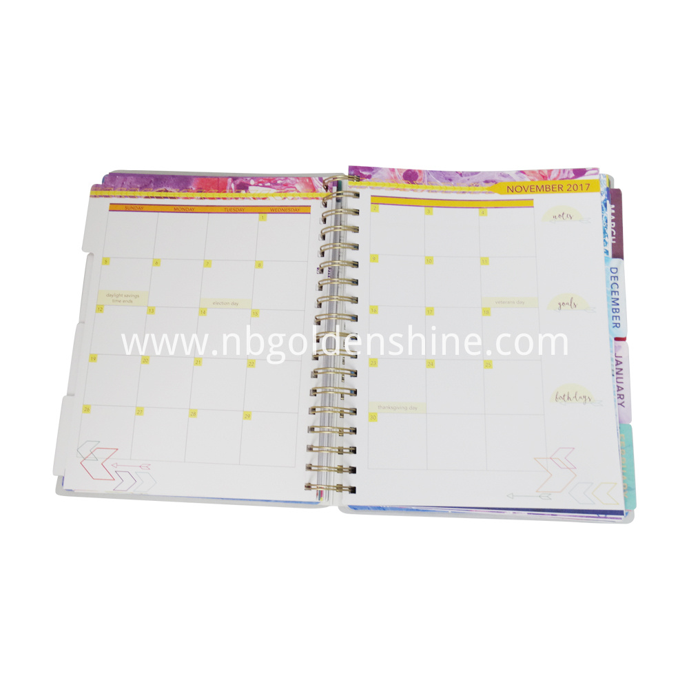 Replace Notebook with Calender