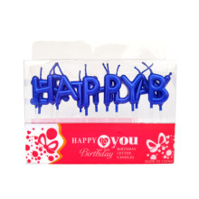 Discount Price Pet Film for Birthday Letter Candle Fancy Unique Happy Birthday Letter Candles export to Faroe Islands Suppliers