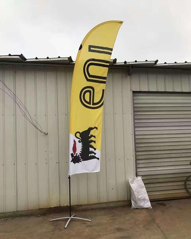 Polyester Printed 2 Sided 15FT Feather Flag