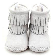 New Arrival China for Winter Baby Boots Warm Winter Cute Wholesale Genuine Leather Baby Boots supply to Portugal Factory