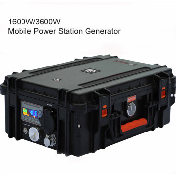1800W/3000W Powerful Solar Power Station For Camping