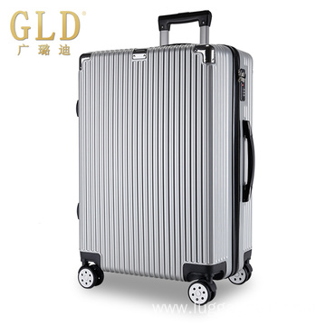Durable new material fashionable rolling luggage