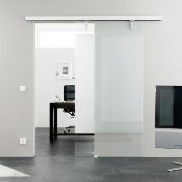High quality electric sliding magnetic glass doors