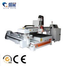 Single column Wood cnc router machine