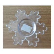 Glass Christamas Tree Tealight Holder