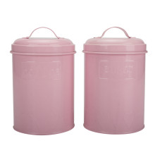 Steel seal canister set