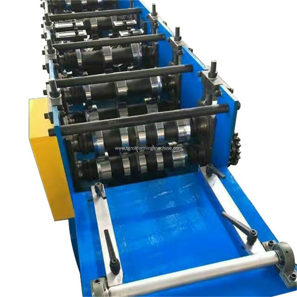 Rain Gutter Downpipe Round Tube Roll Forming Machine