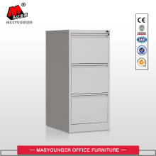 Government Office Use Metal 3 Drawer File Cabinet