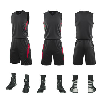 Can be customized basketball uniform for match