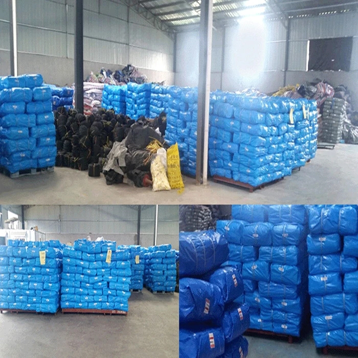 Tarpaulin Bale Packing