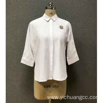 women`s 3/4 sleeve shirt