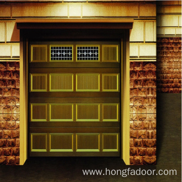 Good Quality for Residential Sectional Garage Door Insulated Sectional Overhead Lift Garage Door export to Guyana Importers