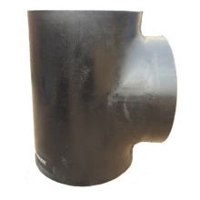 Black Welding Pipe Fitting Equal Tee
