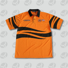Professional for Polyester Polo Shirt Custom sublimation printed Polo t shirt with 100% polyester export to Trinidad and Tobago Factories