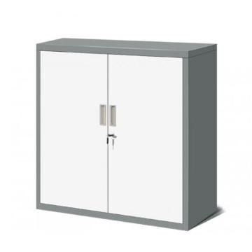 Grey White Office Cupboard