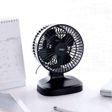 USB air circulation desk fan