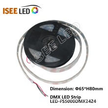 Good Quality for Dmx Controlled Led Strip DMX 24pixels Per Meter Led Strip Light export to France Importers