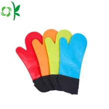 Silicone Chrstmas Oven Mitts Cooking Gloves Thick
