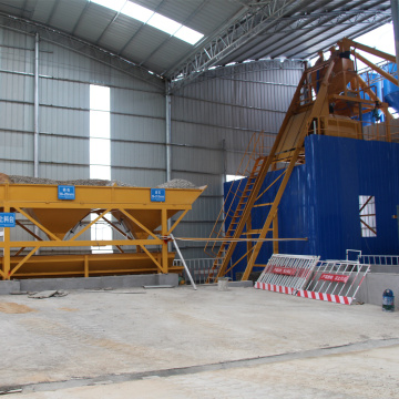 Automatic commercial 35 m3 concrete mixing plant for sale