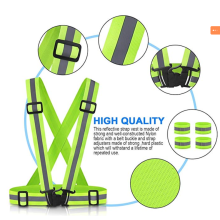 20 Years manufacturer for Waterproof Reflective Vest EN 471 Polyester Knitted  Safety Vest supply to France Factory