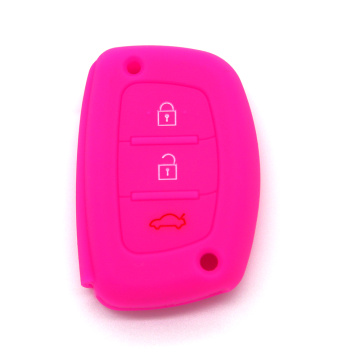 Silicone Car Key Cover For Hyundai IX35