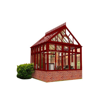 Flat Roof Glass Fiber Room Four Season Sunroom
