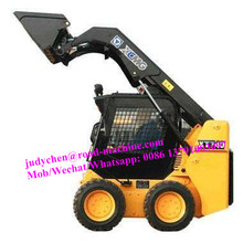 XCMG 0.45m3/750kg skid steer loader height 2375mm