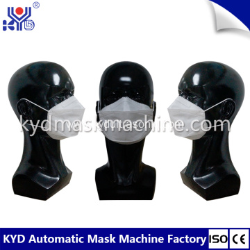 Fully Automatic Fish Type Face Mask Making Machine