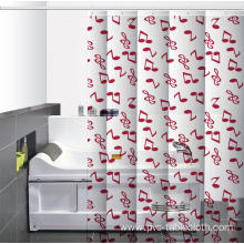 Waterproof Bathroom printed Shower Curtain Yardage