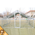 square tube frame chicken coop yard kennel pet pen dog run enclosure
