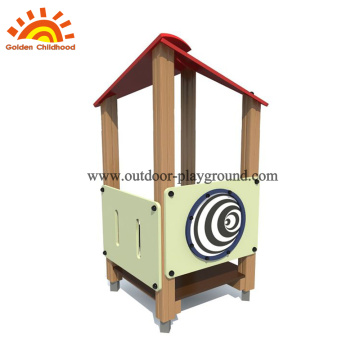 HPL outdoor playground playhouse equipment