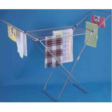 China for Hanging Clothes Rack Stainless Steel Cloth Dryer With Wings supply to Armenia Manufacturer