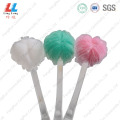 baby Long handle net shower bath brush