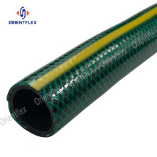 "3/4"" pvc material best garden hose with nozzle"