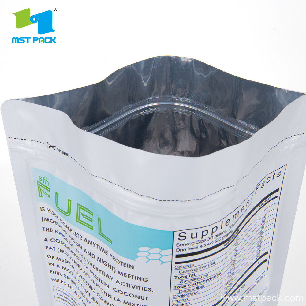 Resealable Stand Up Bags with Customized Design