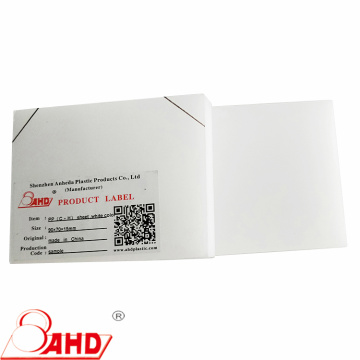 Thermoplastic PP Sheet Thickness 1-200mm