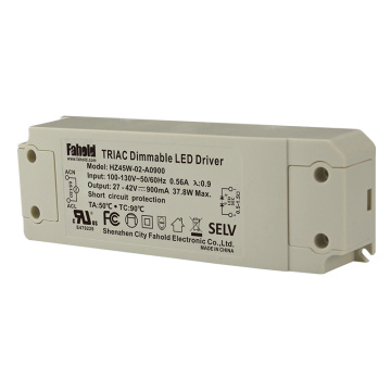 Flcker озод Triac-dimming drive driver 45w 1150мм 42v
