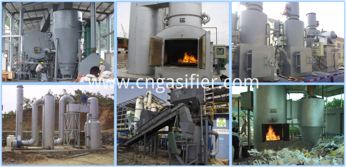 MSW gasification
