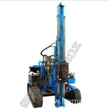 Best Quality for Hydraulic Photovoltaic Pile Driver Multi-function reliable crawler small rotary pile driver export to Tajikistan Suppliers