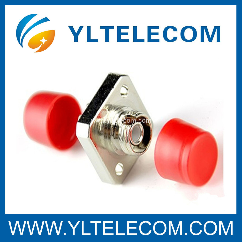 Telecommunication Single Mode Square FC Fiber Optic Adapter for CATV Networks system