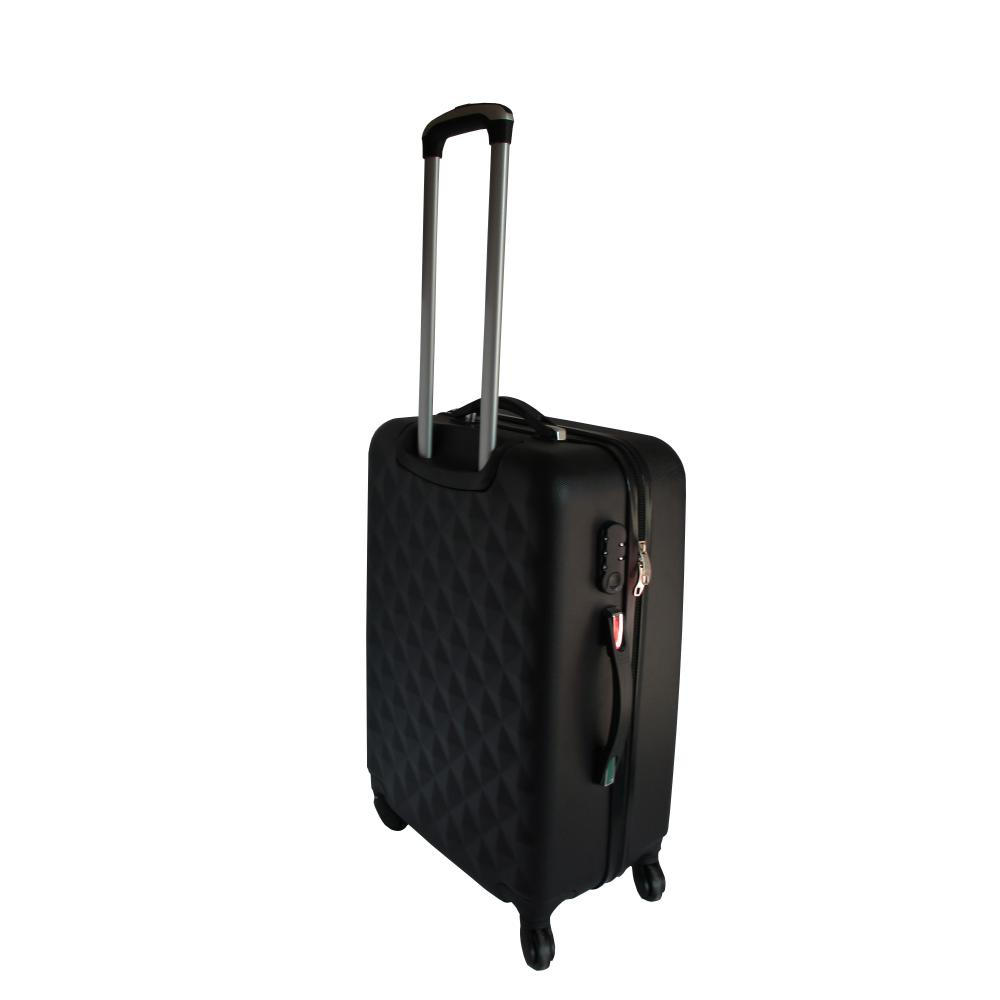ABS Dimond Pattern Spinner Luggage