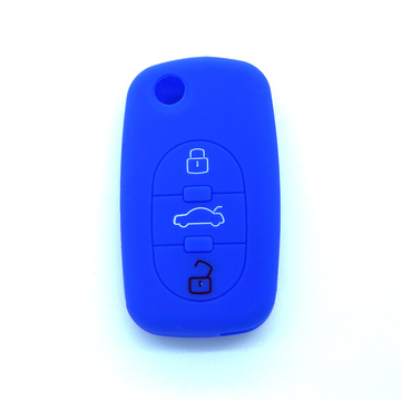 Best Quality for Audi Silicone Key Cover Custom silicone rubber car key case for Audi export to Poland Exporter