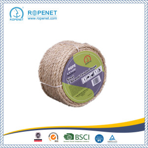 Short Lead Time for for Sisal  Rope Nature Color Sisal Rope with Competitive Price supply to Equatorial Guinea Factory