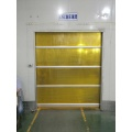 PVC Warehouse Door ne Steel Frame