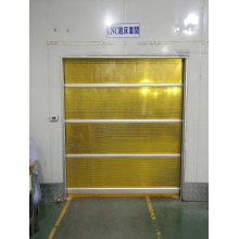 PVC Warehouse Door with Steel Frame