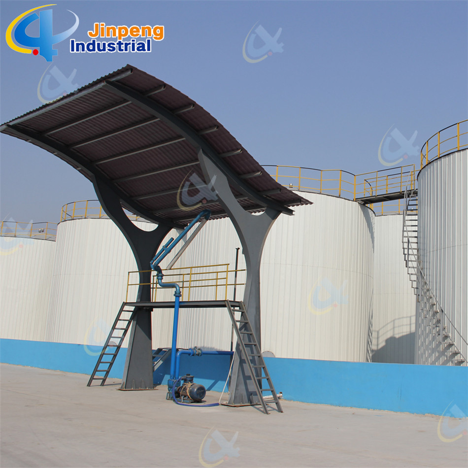 Black Oil Purifier Plant