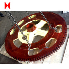 China Gold Supplier for for Forging/Casting Gears,Forging/Casting Ring Gear,Forging Gear Shaft for Industry Wholesale from China helical transmission ring gear set spare parts supply to Sierra Leone Wholesale