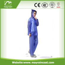 Colorful Hooded PVC Rain Suit